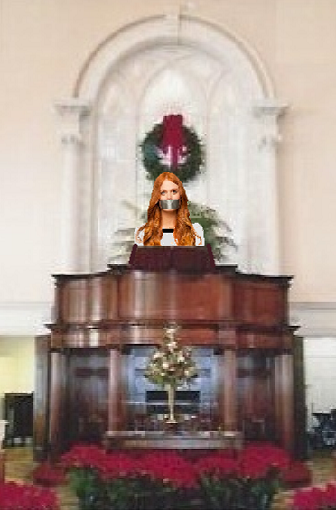 gagged woman in church.png