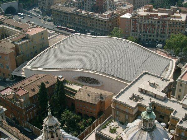 Roman Catholicism - Paul VI - Nervi Hall - Serpent Building 10.jpg