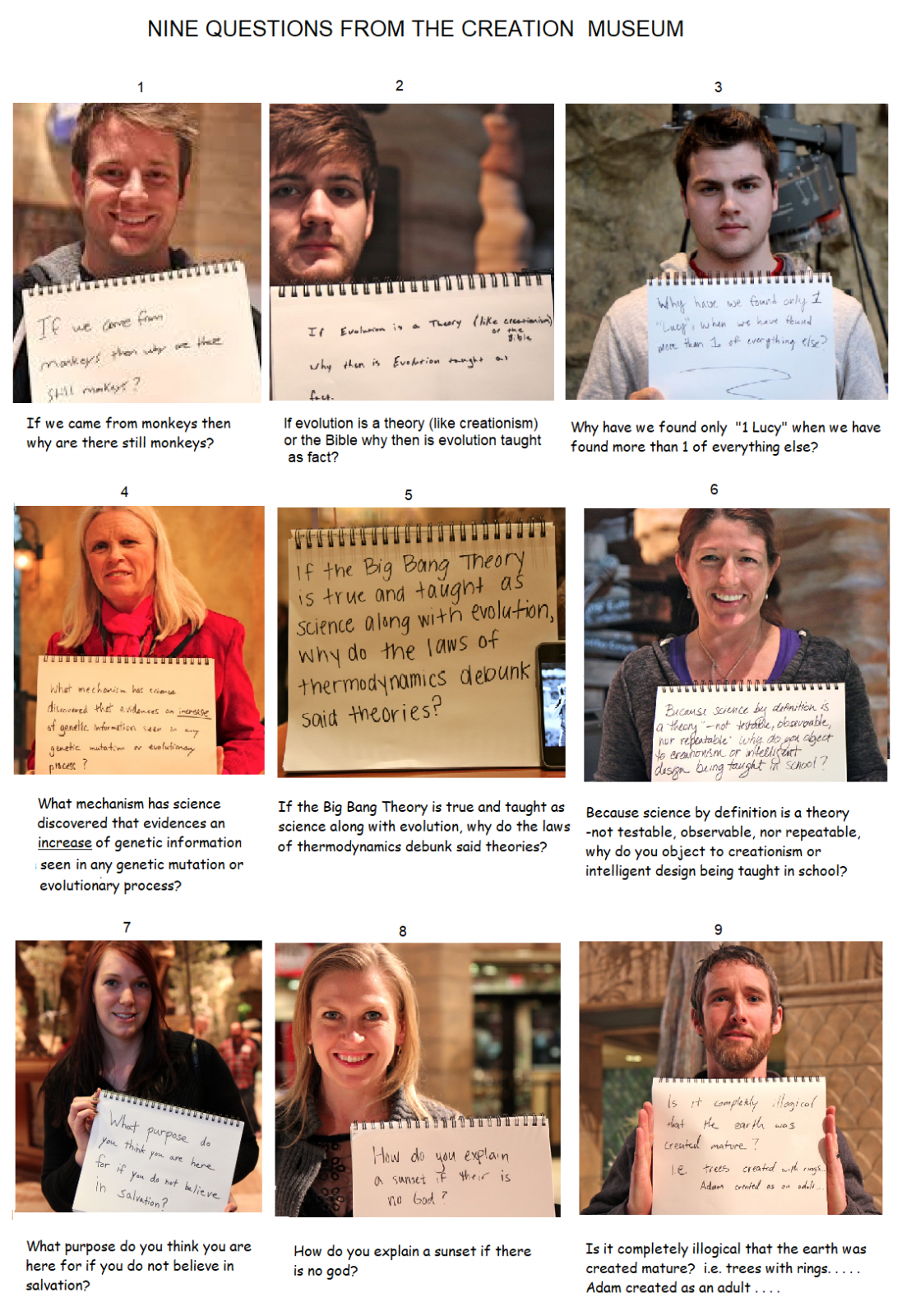 NINE QUESTIONS FROM THE CREATION MUSEUM.png