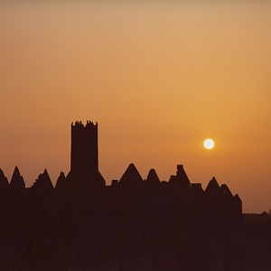 Ross Errilly sunset Abbey