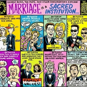 Marriage Is A Sacred Institution